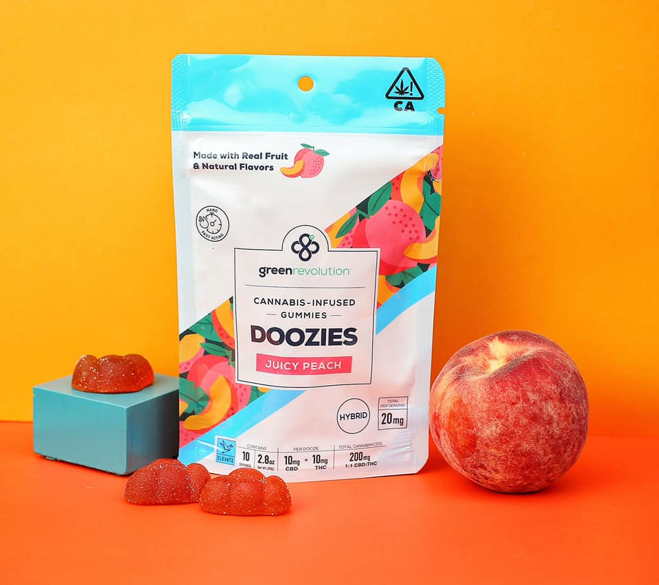 Green Revolution Doozies are the perfect on the go edible. Try all their flavors!